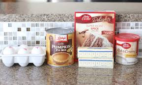 Pumpkin Cake Mix by Pumpkin Pie Cake The Country Cook