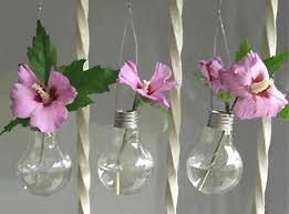 home dzine craft ideas recycled l bulb vases