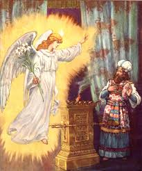 Elizabeth Becomes Pregnant Teaching Children About Bible Miracles Zacharias Is Struck Dumb