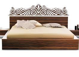 schlafzimmer bett deko wandtattoo wandtattoos und