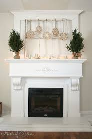 Mona Shores Singing Christmas Tree 2017 by 19 Christmas Decorating Mantels Natural Chestnut Wooden