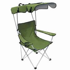 Folding Lounge Chair With Canopy — MT Hood Wellness Decor ...
