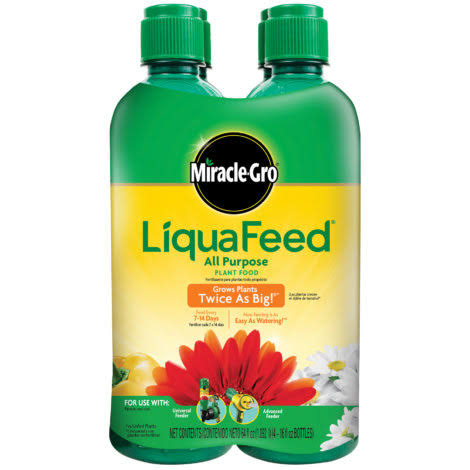 Miracle-Gro LiquaFeed All-Purpose Plant Food Refills - 16 Oz