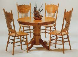Lovely Wooden Table Chair Designs An Interior Design Oak Round