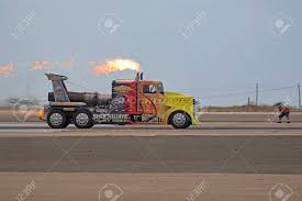 100 Jet Truck Drag Race With The Shockwave At Miramar Airshow