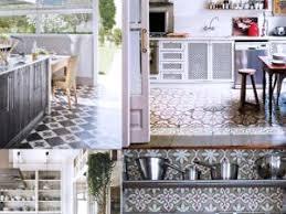 cuisine style retro carrelage cuisine retro