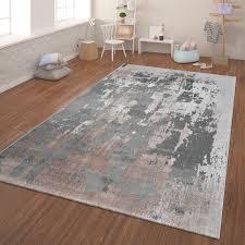 teppich kurzflor teppich für wohnzimmer 3 d effekt beton