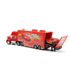 100 Cars Mack Truck Playset Disney Pixar 2 3 No95 Saetta McQueen Uncle Diecast