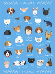 Dogcraft Friends Poster StacyPlays Shop