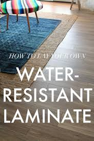 Laminate Flooring Bubbles Due To Water by Water Resistant Laminate Flooring Little Green Notebook