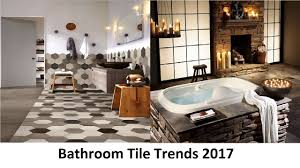 bathroom tile trends 2017 that will attract your attention