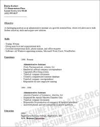 Administrative Assistant Functional Resumes