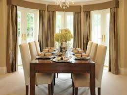 Dining Room Curtains Ideas For Bay Windows