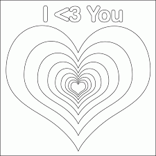 Heart Coloring Pages For Adults
