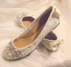 Flat Lace Wedding Shoes Are Great To Be Selected For Any Bride Who Wants Have A Vintage Theme Is Good Material Create Look