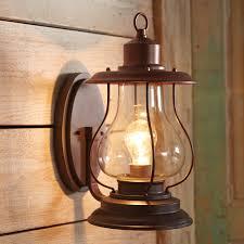 weathered patina lantern wall sconce 6 inch