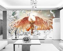 3D Game Wallpaper League Of Legends Photo Brick Wall Murals Bedroom Boys Room Decor Bar TV Backdrop Kayle In Wallpapers From Home