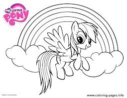 My Little Pony Coloring Pages To Print Pictures Page Printable