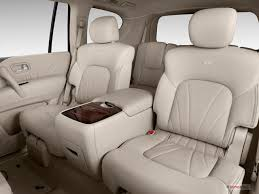 Luxury Suv With Second Row Captain Chairs by 2013 Infiniti Qx56 Interior U S News U0026 World Report