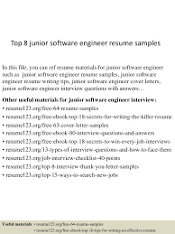 Top 8 Junior Software Engineer Resume Samples Cover Letter Software Developer Sample Elegant How Is My Resume Rumes Resume Template Free 25 Software Senior Engineer Plusradioinfo Writing Service To Write A Great Intern Samples Velvet Jobs New Best Junior Net Get You Hired Top 8 Junior Engineer Samples Guide 12 Word Pdf 2019 Graduate Cv Eeering Graduating In May Never Hear Back From