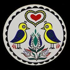 Double Good Luck Distelfink Bird 8