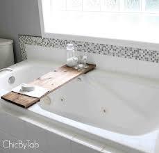 Diy Bathtub Caddy With Reading Rack by Best 25 Bathtub Tray Ideas On Pinterest Bathtub Tray Wood