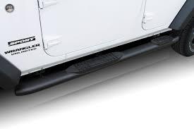 100 4 Wheel Truck Parts 20072018 Jeep Wrangler JK Door Inch OE Style Curved Black Oval
