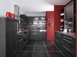 cuisine gris et noir stunning cuisine noir contemporary design trends 2017