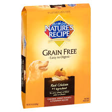 Halloween Candy Dish Dog Food by Nature U0027s Recipe Grain Free Chicken Sweet Potato U0026 Pumpkin Dry Dog