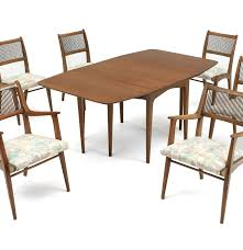 Seven Piece Dining Room Set by Drexel Profile John Van Koert Seven Piece Dining Set Ebth