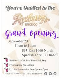 Grand Resort Keaton Patio Furniture by Roxberry Juice Spanish Fork Grand Opening Salt Lake Magazine