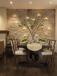 marvelous wall mount lighting a dining area and a wall of