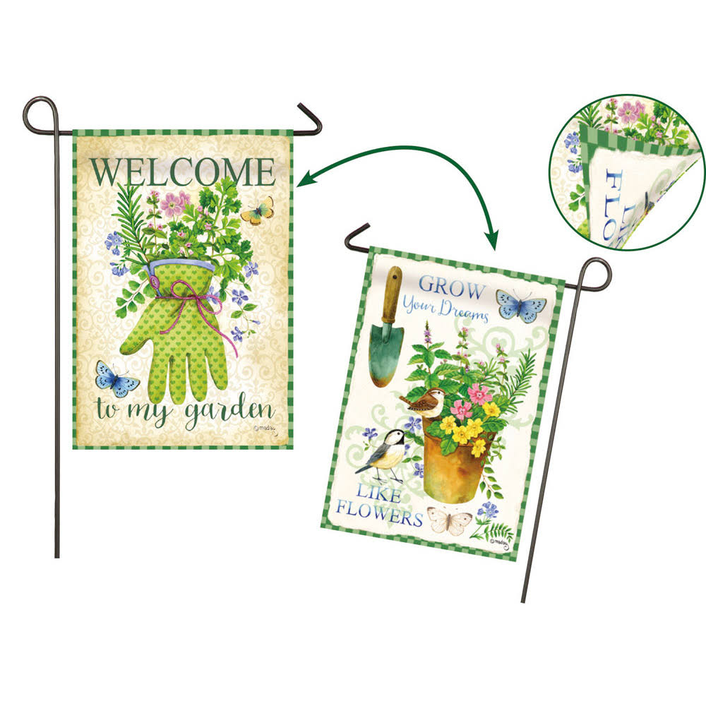Evergreen Enterprises Garden Flag - Herb Garden, 2 Sided