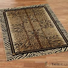Safari Decorating Ideas For Living Room by Flooring Luxury Animal Print Rugs With Coffee Table And Chairs