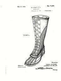 Design Apparel Footwear Boot Patent 1