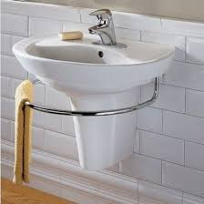 Small Wall Mounted Corner Bathroom Sink by Best 25 Wall Mounted Sink Ideas On Pinterest Wall Mounted