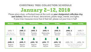 Seattle Christmas Tree Disposal 2015 by Holiday Tree Recycling Recology