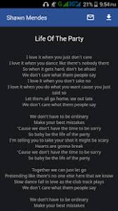 Shawn Mendes Lyrics Android Apps on Google Play
