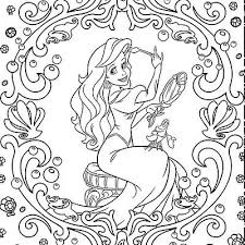 5 Of 9 Adult Coloring Book Disney Princess 100 Images To Inspire Creativity Relaxation
