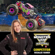Rosalee Ramer Monster Jams 2016 Rookie Of The Year Will Get Her First Shot At Jam World Finals Field And Wild Flower Were On FS1
