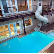 Home Pool Slides Houses With Inside Incredible Residence Indoor House Slide Download Regard 1