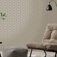 Taupe Living Room Ideas Uk by Holden Decor Sparkle Star Taupe Gold Metallic Wallpaper 12619