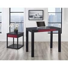 Parsons Mini Desk Aqua by Parsons Desk With Colored Drawer Multiple Colors Walmart Com