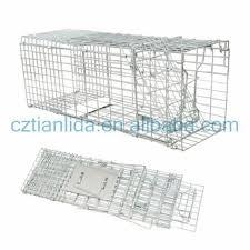 live cat trap trap cage humane live possum cat rabbit small animals trap cage