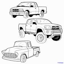 100 How To Draw A Truck Step By Step Easy Pickup Cakepins Projects