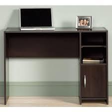 sauder beginnings cinnamon cherry desk with storage 415817 the