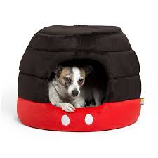 Cuddler Dog Bed by Disney Tails Dog Accessories The Main Street Mouse