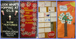 Winter Themed Classroom Door Decorations by Our Lady Of Sorrows Catholic The Doors Of Ols