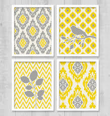 Chevron Print Bathroom Decor by 15 Yellow And Grey Chevron Bathroom Set Choosing The Best