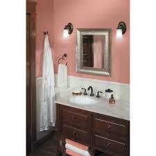 Moen Oil Rubbed Bronze Bathroom Accessories by Moen Yb2886bn Eva Brushed Nickel Towel Rings Bathroom Accessories